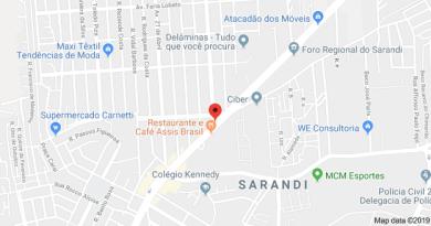 Avenida Assis Brasil no Sarandi