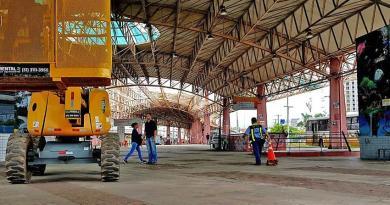 Obras do Terminal Triângulo
