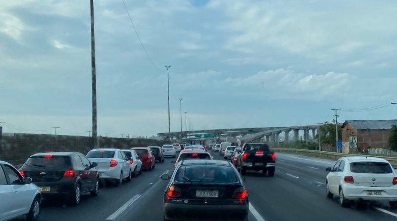 Trânsito na Freeway