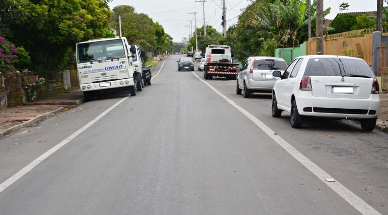Ruas em Taquara