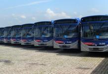 Ônibus da EMTU Linhas intermunicipais