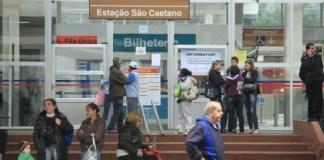 Estação São Caetano da Linha 10-Turquesa