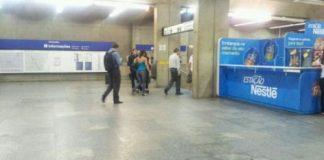 Estação Ana Rosa feriado