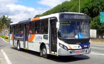 Passagem de Ônibus em Cotia