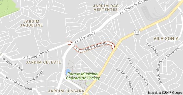 Rua Caminho do Engenho Vila Sônia