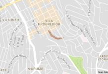 Rua José Ferreira Guimarães Vila Progredior
