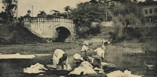 exposição lavandeiras rio tamanduateí