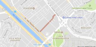 Avenida Manuel Bandeira vila leopoldina