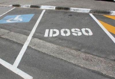 Vagas exclusivas Vagas especiais Estacionamento para idoso são paulo cartão de estacionamento para idoso