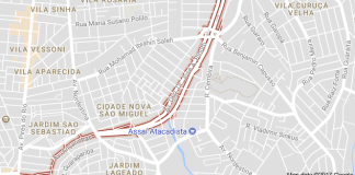 Avenida Deputado Doutor José Aristodemo Pinotti São Miguel Paulista