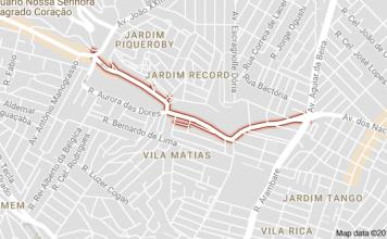 Avenida Cipriano Rodrigues Jardim Vila Formosa