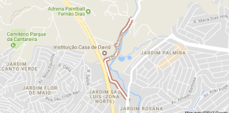 Estrada Três Cruzes Cemitério Parque dos Pinheiros