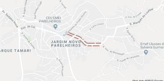 Rua Eloy Domingues da Silva parelheiros
