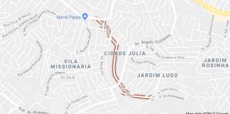 Rua Guacuri Cidade Júlia