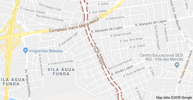 Avenida do Cursino Vila Moraes