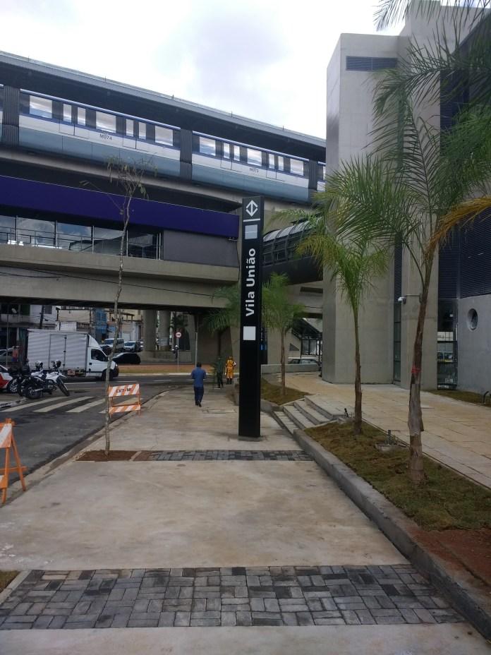 Estação Vila União do monotrilho