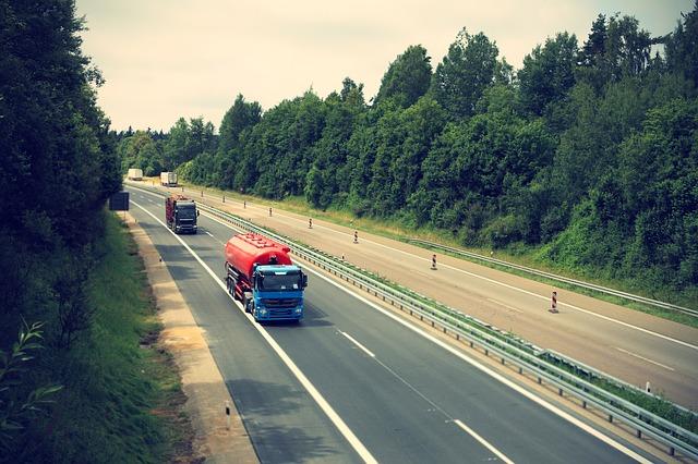Circulação de caminhões