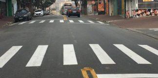 Sinalização Avenida Governador Jânio Quadros ferraz