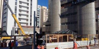 Obras Estação Santa Cruz Linha 5-Lilás