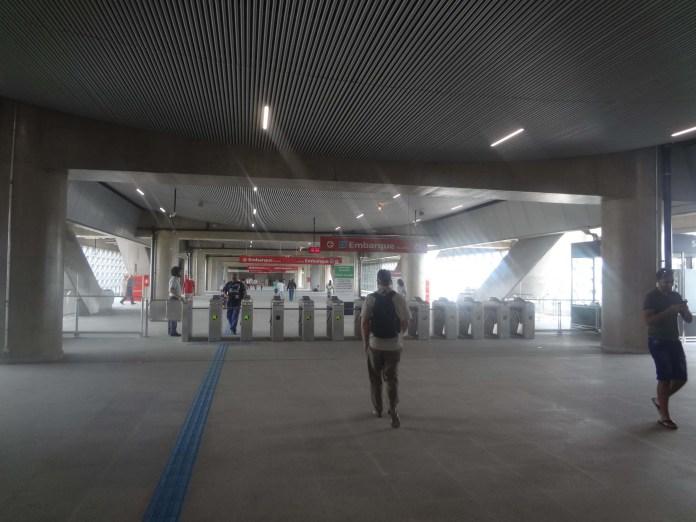 abertura de estação aeroporto da linha 13-Jade