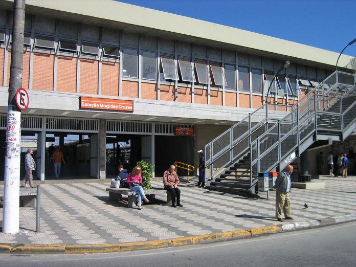 Estação Mogi das Cruzes Linha 11-Coral
