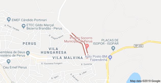 Rua Antônio José Anacleto Perus