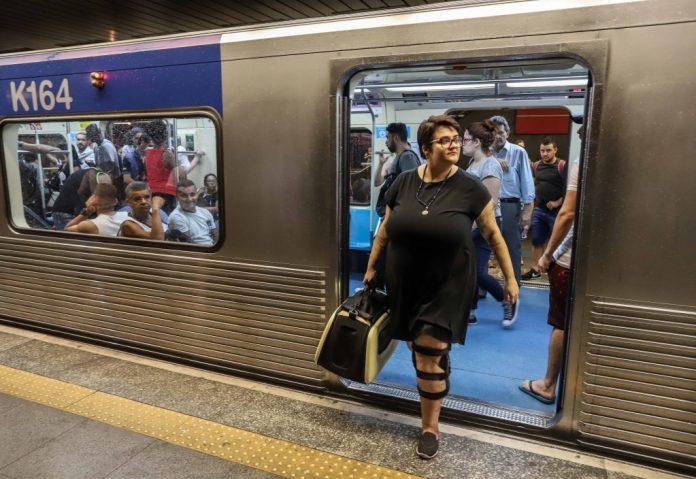 transporte animais metrô