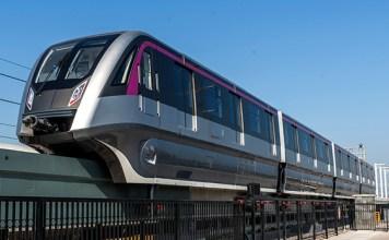 monotrilho maglev Linha 18-Bronze