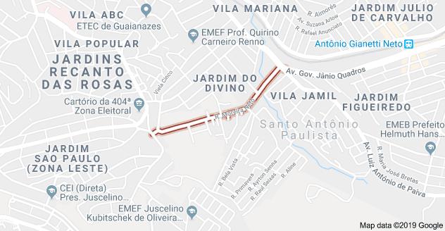 Rua Moreira Neto