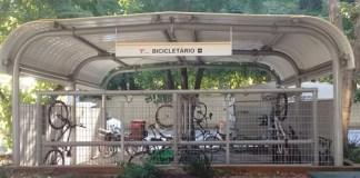 Bicicletário do Terminal Princesa Isabel