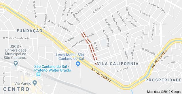 Rua Viana do Castelo Vila Califórnia