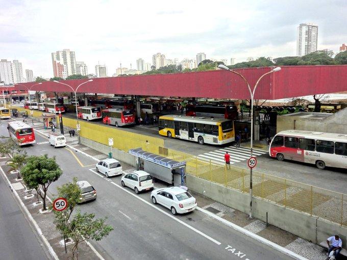 Terminal Carrão Sul Terminais de ônibus Greve Geral em São Paulo