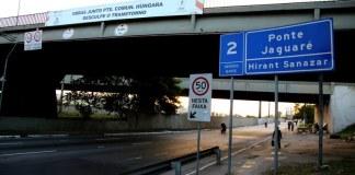 Ponte do Jaguaré Trânsito