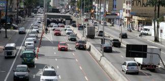 Operação especial de trânsito em Santo André