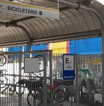 Bicicletário Terminal Parque Dom Pedro ll