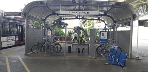 Bicicletário Terminal João Dias