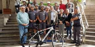 Bicicletas da Polícia Militar