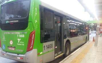 Linha 8017 no Terminal Pirituba