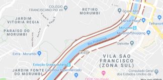 Marginal Pinheiros Ponte do Morumbi