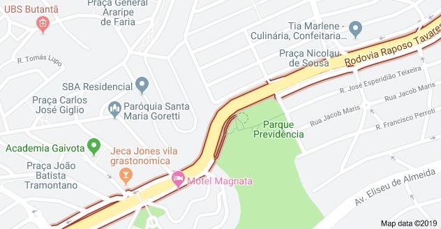 Rodovia Raposo Tavares Jardim Adhemar de Barros