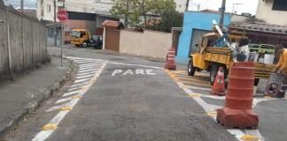 sinalização viária Guarulhos