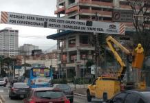 Instalação semáforos