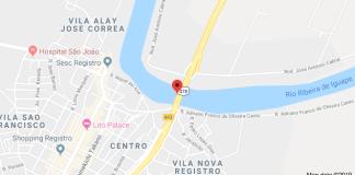 Ponte sobre o Rio Ribeira do Iguape