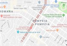Rua Barão do Bananal na Pompeia
