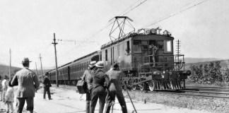 Trens elétricos