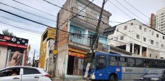 Ônibus Rua Conselheiro Moreira de Barros