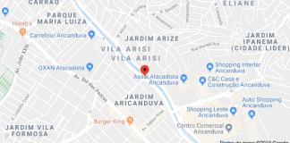 Avenida Aricanduva Acidente