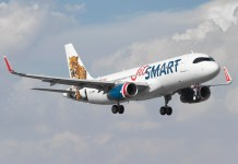 Avião da JetSMART
