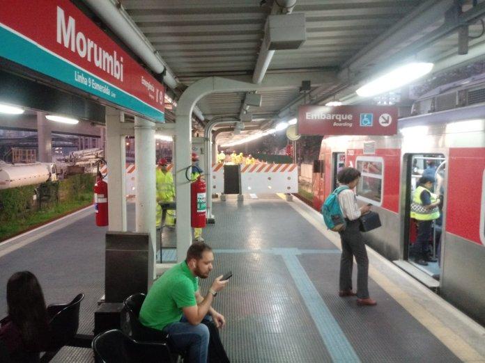 Estação Morumbi da Linha 9-Esmeralda