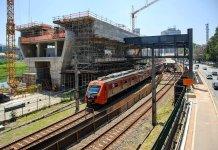 Obras Estação Morumbi Linha 9-Esmeralda